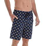 IZOD Cotton Poplin Tropical Print Sleep Short (IZ5000W) XL/Swim Rings