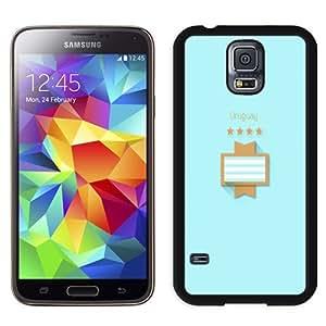 Beautiful Custom Designed Cover Case For Samsung Galaxy S5 I9600 G900a G900v G900p G900t G900w With FIFA World Cup Uruguay Phone Case