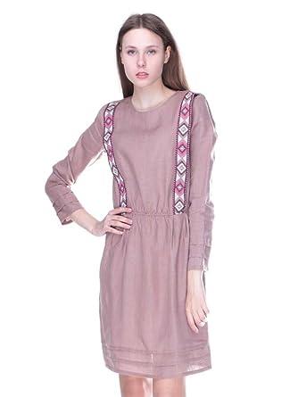 6a88679ce22 Vyshyvanka Modern women s ukrainian dress real embroidery. at Amazon ...