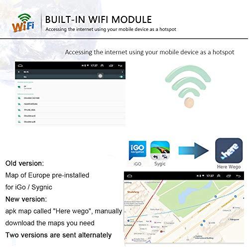2 Din Android Radio De Coche Gps 2g16g Camecho Pantalla Tactil Capacitiva De 7 Pulgadas Bluetooth Wifi Usb Sd Aux Fm Enlace Estereo Del Espejo Del Automovil Camara Trasera