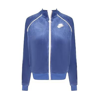 Nike Woman's Sportswear Velour Track Jacket: Clothing