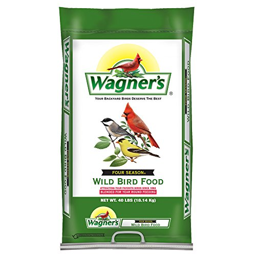 Bird Seed Bag - Wagner's 13013 Four Season Wild Bird Food, 40-Pound Bag