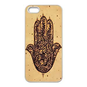 Evil Eye Hamsa DIY Cover Case for Iphone 5,5S,personalized phone case ygtg610381