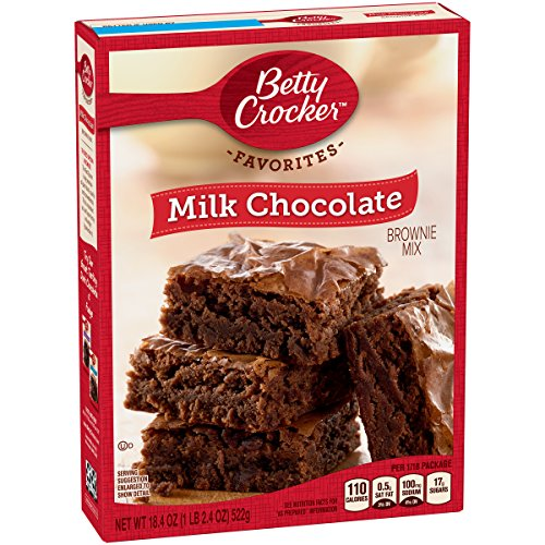 General Mills Betty Crocker Milk Chocolate Brownie, 18.4 oz ()