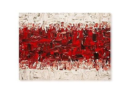 Quadro moderno dipinto a mano su tela spessorata telaio h