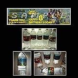 Fortnite Birthday Party Water Bottle labels (waterproof) #1