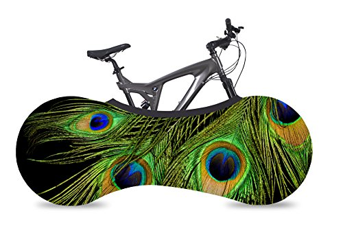 Felt Road Bikes (VELOSOCK Bicycle Bike Cover PEACOCK for Indoor Storage - Keeps floors and walls DIRT-FREE - Fits 99% of ALL ADULT Bicycles)
