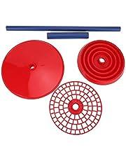 Cosiki Soporte de pipeta de Laboratorio, Suministros de Laboratorio Soporte de pipeta multipropósito Rojo Soporte de pipeta Soporte de pipeta