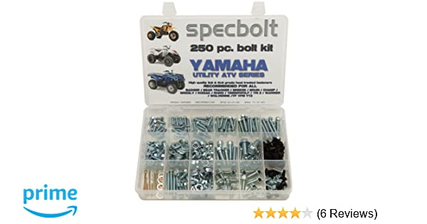 Body Work 120pc Specbolt Bolt Kit for Yamaha UTILITY ATV