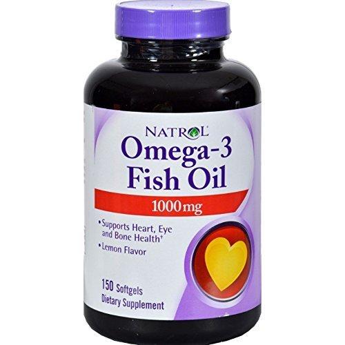 Natrol Omega 3 1000Mg 150 Sgel