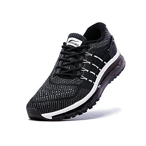 Course Black Air Homme Baskets Gym Fitness White Chaussures Sport Onemix CSaq7