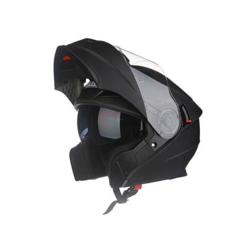 WEGCJU Bluetooth-Headset Mit Integriertem Flip-Protector F/ür Motorradhelm-Sicherheit