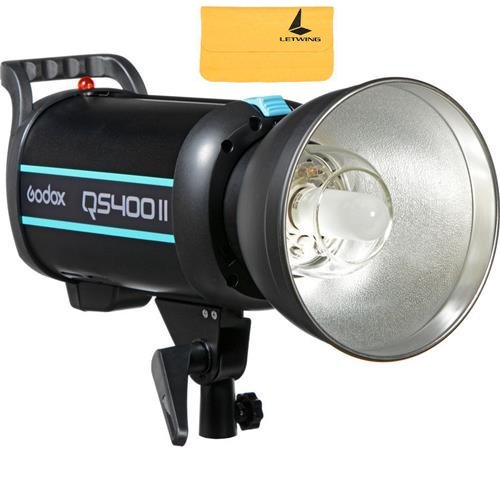 GODOX QS400II QSII Series 400Ws 2.4G Professional Photography Studio Strobe Modeling Light,5600±200K Color Temperature by Godox