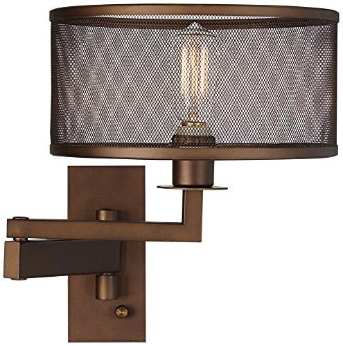 Svende Rubbed Bronze Plug Swing product image
