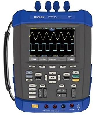 Hantek DSO8152E 150Mhz Digital Storage Oscilloscope 1GSa/s 2M Memory Depth Six in One Oscilloscope/Recorder/DMM/ Spectrum Analyzer/Frequency Counter/Arbitrary Waveform Generator 6000 Counts DMM USB