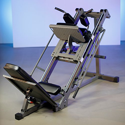 """XMark Seated Leg Press and Hack Squat With 1000 lb. Wgt Capacity Built Tough 11 gauge 2"""" x 3"""" and 2"""" x 2"""" steel mainframe"""