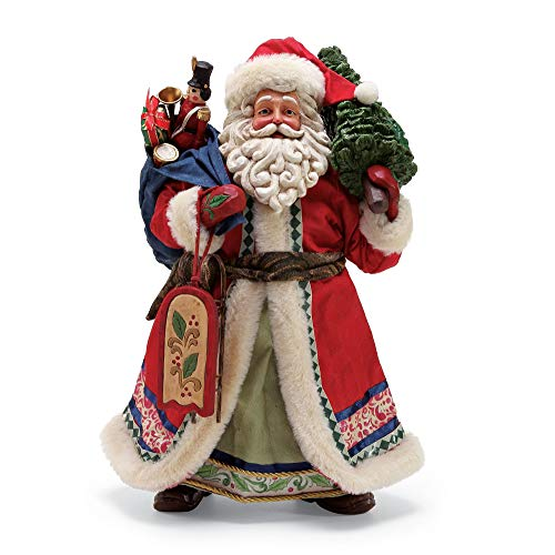 (Department 56 Jim Shore Limited Edition Santa, 12.5