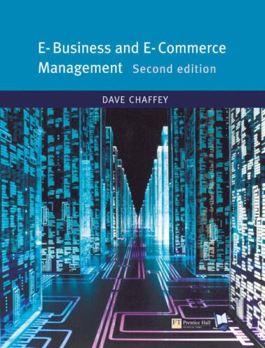 E-Business and E-Commerce: AND Onekey Blackboard Access Card PDF