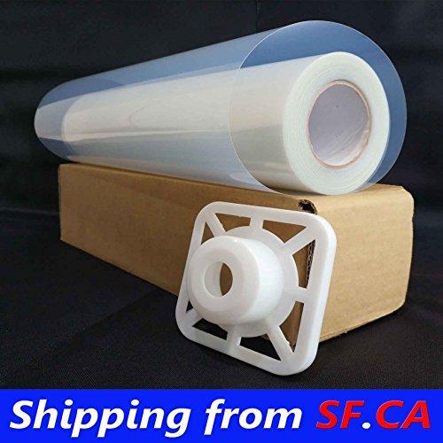 2 Rolls,17'' x100',Waterproof Inkjet Transparency Film Silk Screen Printing by Tiger-Hoo