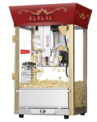 8 Oz Commercial Countertop Popcorn Popper Maker Machine Fund