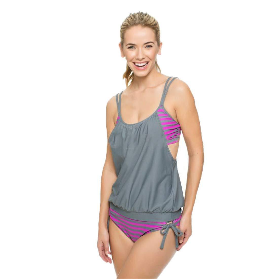 Qusanyua Swimsuit Female Bathing Suits Plus Size Two Piece Bikini Set Women Swimwear