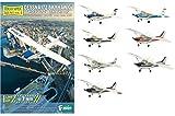Efutoizu Conference ECTS (F-toys Confect) 144 high-spec mini Vol.1 Cessna 172 Skyhawk all seven set [Furukonpu]