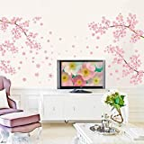 Flower Wall Stickers Removable Decal Home Decor DIY Art Decoration Wall Murals for Nursery and Babys Room