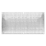 John Sterling Heavyweight Diamond Plate Steel Pegboard, 16 by 32-Inch
