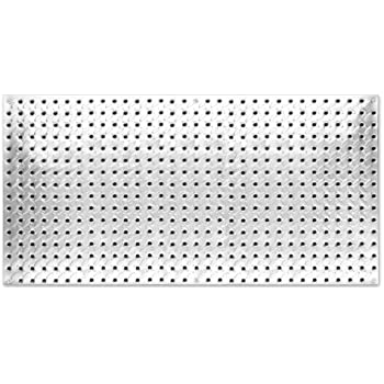 4 Foot Pegboard Sheets With Formed Edges By Wall Control