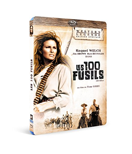 100 Rifles ( One Hundred Rifles ) [ Blu-Ray, Reg.A/B/C Import - France ]