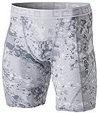 TM-MUS17-XLG_Medium Tesla Men's Compression Shorts Baselayer Cool Dry Sports Tights