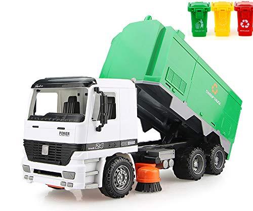 AITING Children Street Sweeper Truck + Gift(3pcs Trash can)