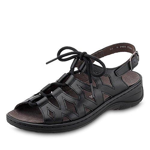 Ara 56schwarz Sandalo E0154 Jenny Schwarz By 56550 Donna Omodo C8W45wxq