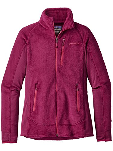 French Femme magenta Veste Polaire Patagonia R2 nqf411