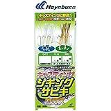 ハヤブサ(Hayabusa) ジギングサビキ キャスティングタイプ カマス HS361 M 10-4-6