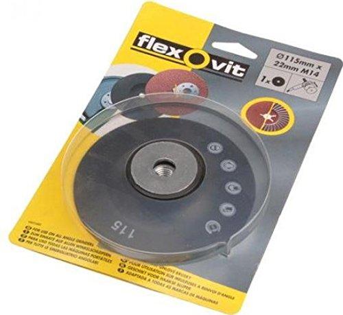 Flexovit Backing Pad For Fibre & Semi Flexible Discs 115Mm X 22 (Flexovit Backing Pad)