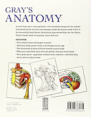 Start Exploring: Gray\'s Anatomy: A Fact-Filled Coloring Book (Start ...