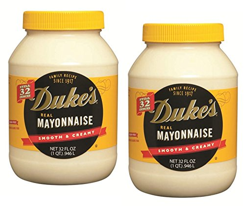 Duke's Real Mayonnaise, 32 oz. jar (2-pack case)