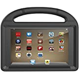 Huaup Shock Proof Case for Fire HD 8 2017/Fire HD 8 2016, Shockproof Convertible Stand Light Weight Protective Handle Kids Case for Fire HD 8 (Fire HD 8 2017/2016, Black)