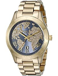 Womens Layton Gold-Tone Watch MK6243