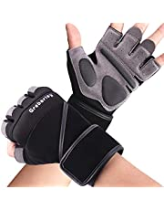 Grebarley Gym Gloves,Training gloves with Wrist Support,Weight lifting Gloves,Breathable Sport Gloves,Crossfit Training,Suit for Men and Women