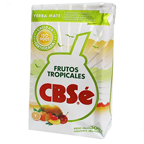 CbSe Yerba Mate Cbse Tropical Fruits 500G