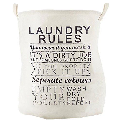 yi-nuo-cotton-linen-fabric-folding-laundry-basket-washing-clothes-bin-storage-hamper-toys-organizer-