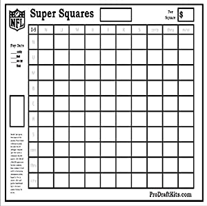 block pool template - super bowl squares fantasy football weekly