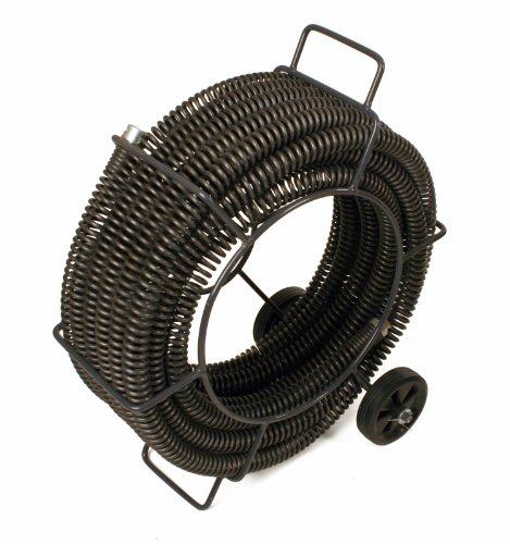 Steel Dragon Tools 62280 C-11 Drain Cleaner Snake Cable 1-1/4''x 60' fits RIDGID K1500 Drain Cleaning Machine by Steel Dragon Tools