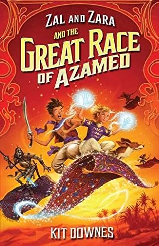 book cover of The Great Race of Azamed