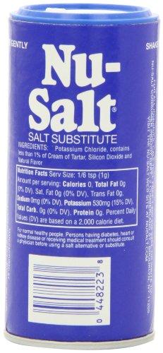 Nu Salt, 3-Ounce Shaker (12 Count) by Sweet 'N Low (Image #3)