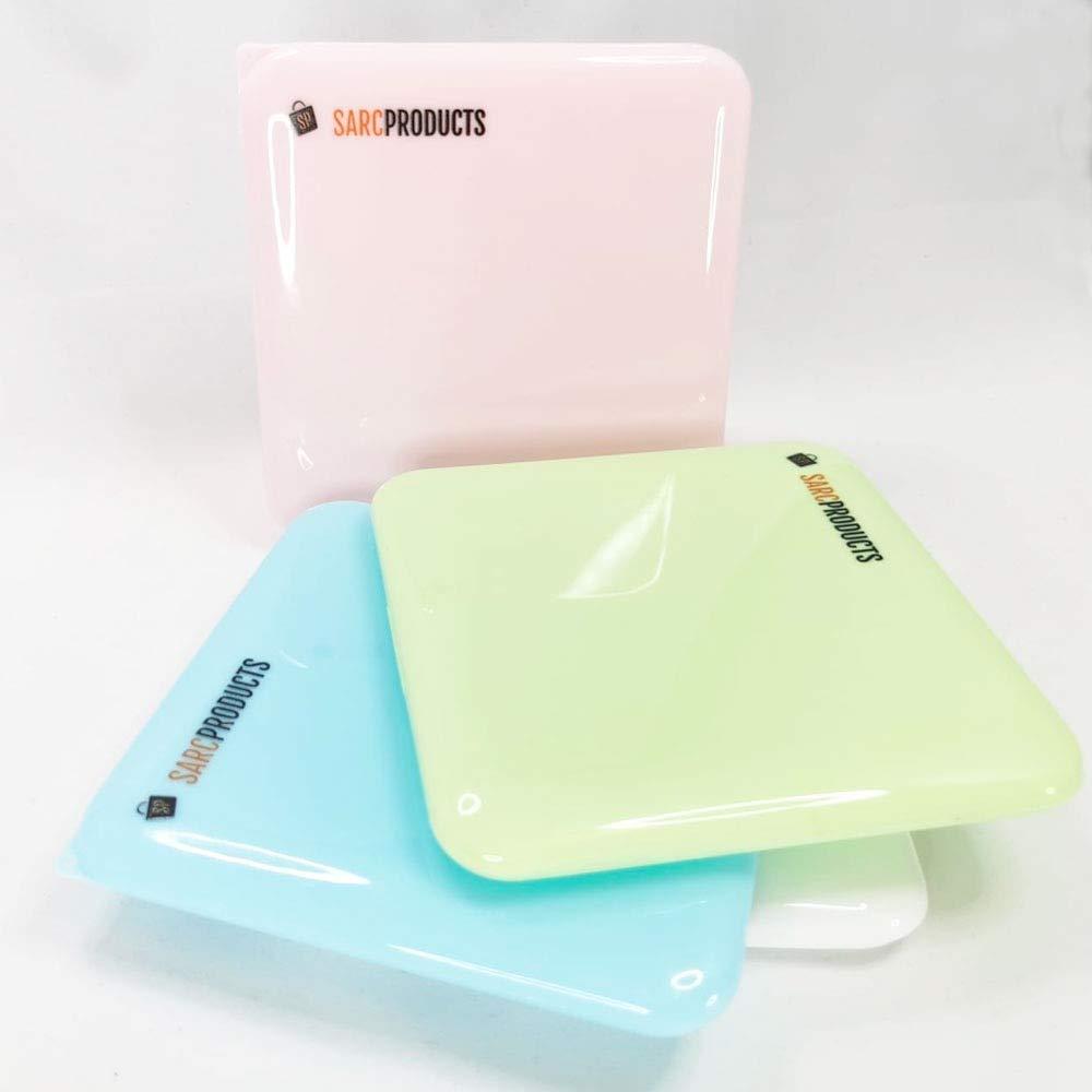 SARC Products Caja Para Mascarillas Portátil Caja De Plástico Para Almacenar Cualquier Tipo de Mascarillas, Antihumedad y a Prueba de Polvo (Verde)