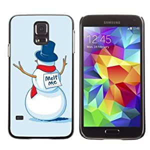 Designer Depo Hard Protection Case for Samsung Galaxy S5 / Snowman Suicide