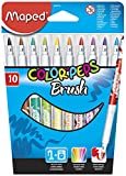 Maped Color'Peps Brush Colouring Pens (Pack of 10)